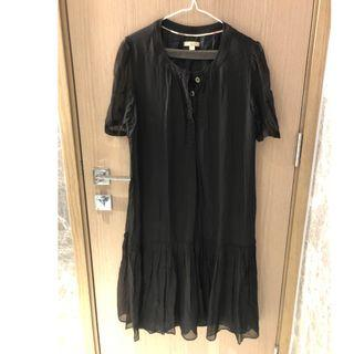 Burberry Brit Dress 連身裙 裙 長裙 Black Dress 黑色裙