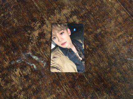 EXO CHEN DON'T MESS UP MY TEMPO VIVACE LIMITED PHOTOCARD