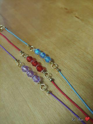 手繩/紅繩/手鏈 bracelet
