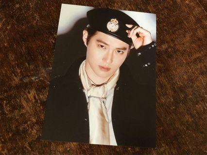 EXO SUHO DON'T MESS UP MY TEMPO POSTCARD