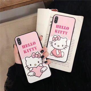 可插卡Hello Kitty 手機殼