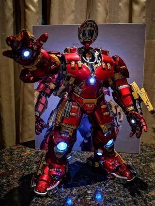 全新hulkbuster 合金1:12 iron man mark 44