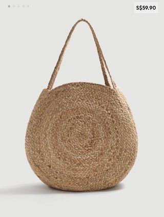 Mango Jute bag - like new!