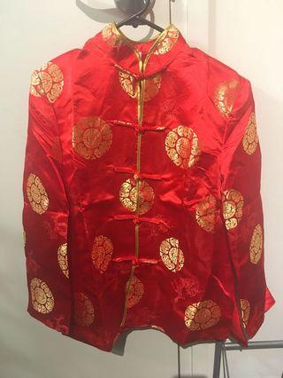 Chinese traditional style long sleeve top (new)