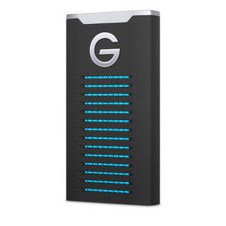 G-Technology 2TB G-DRIVE mobile SSD 560 MB/s USB-C port / USB 3.1 Gen 2 interface R-Series Rugged Storage Gdrive for Mac and PC