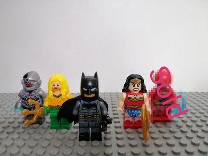DC lego Compatible movie versions
