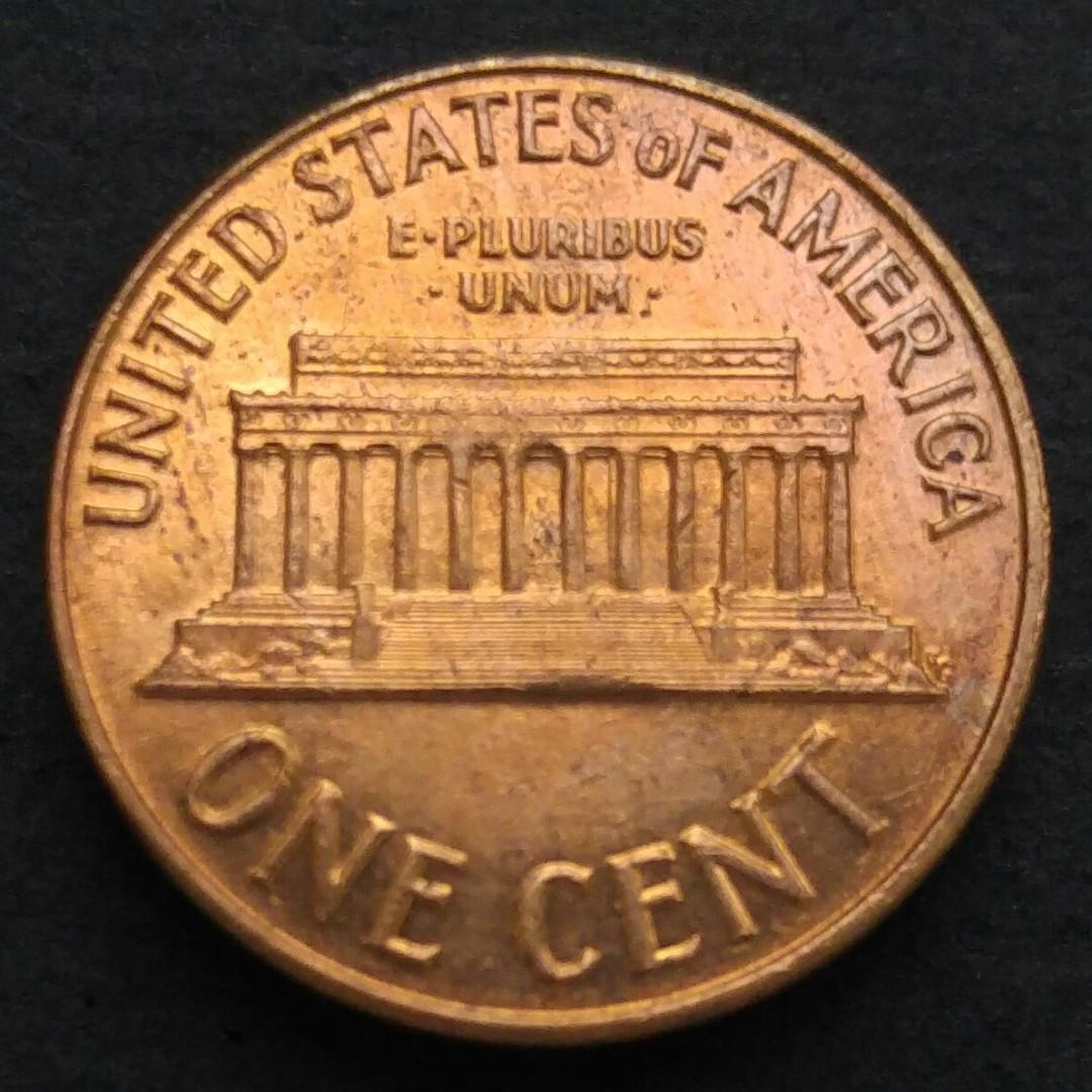 1963-D 美國林肯一美仙硬幣一枚 (63-01)