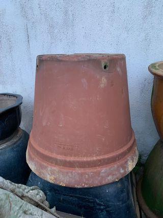 Big plastic pot