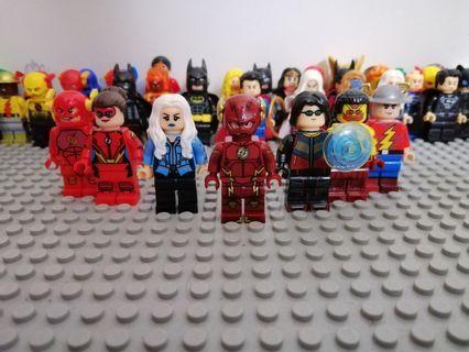 DC CW THE FLASH LEGO COMPATIBLES MINIFIGURES