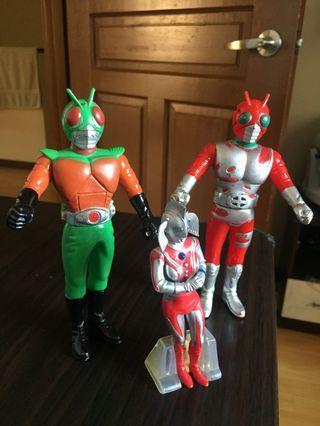 Kamen Rider Skyrider and ZX Lot