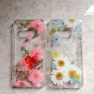 s10e handmade floral phone cases