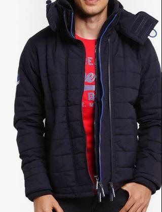 1day promo! Superdry Windcheater Jacket - blue