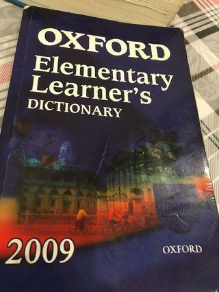 Oxford elementary learners dictionary