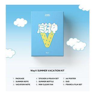 [LOOSE ITEMS] Wayv Summer Vacation Kit
