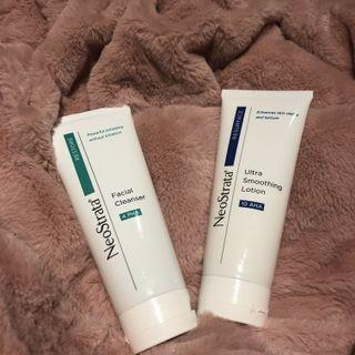 Neostrata cleanser and lotion