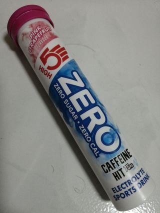 High5 zero sugar caffeine hit electrolyte drink tablets