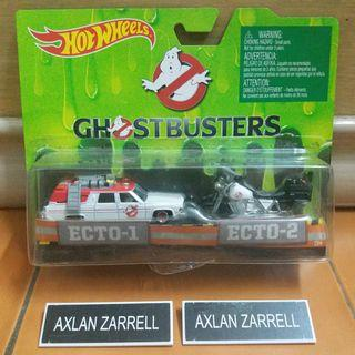 Hot Wheels Ghostbusters ECTO-1 & Ecto-2