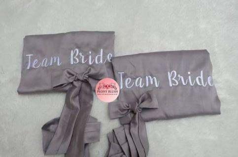 Personalised Bride Bridesmaid Robe