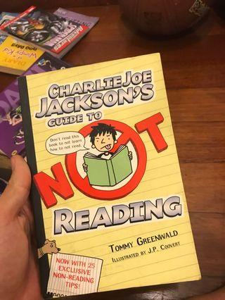 Charles Jackson's guide to not reading