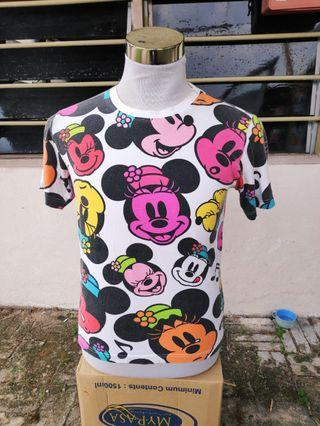 Authentic  Tokyo Disney Minnie Mouse Full Print