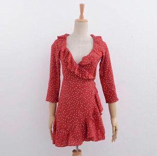 Wrap dress size S
