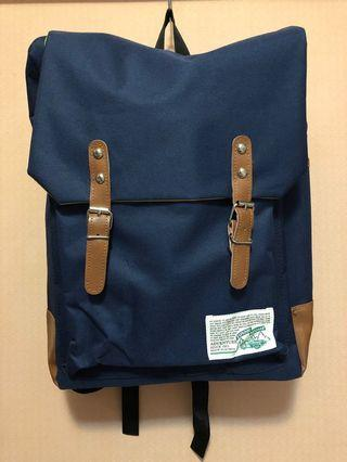 購自韓國🇰🇷全新🙆🏽♂️男裝 深藍色Backpack 背包😊Made in Korea❤️