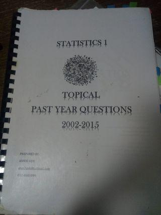 A-LEVEL STATISTICS 1 TOPICAL
