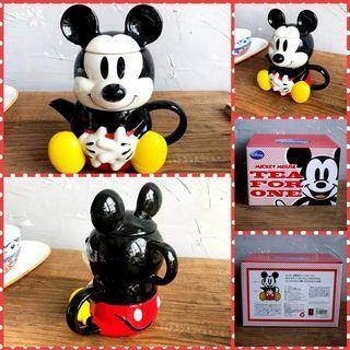 迪士尼米奇老鼠陶瓷杯壺套裝 Disney Mickey Mouse Ceremic Teapot and cup