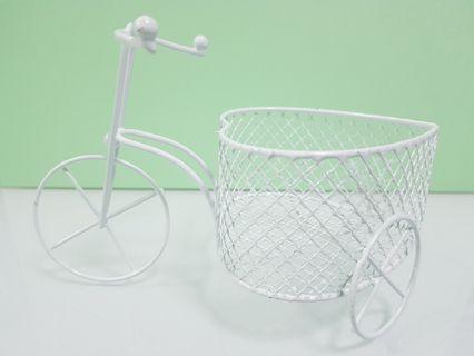 BNIB Minature bicycle with basket