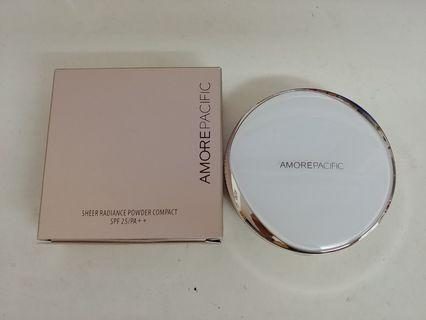 Amore Pacific 輕透亮采粉餅SPF25/PA++  Sheer Radiance Powder Compact