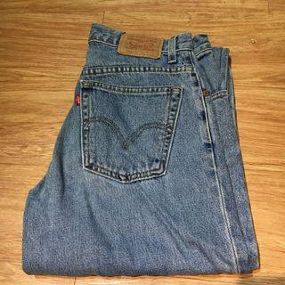 A125 Levi's 550牛仔長褲