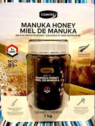 UMF 5+ 新西蘭麥蘆卡蜂蜜 Manuka Honey 1kg