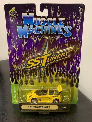Muscle Machines 1/64 Toyota MR2