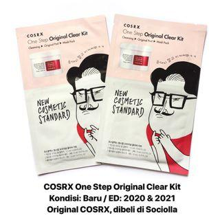 [FREE DELIVERY] COSRX One Step Original Clear Kit