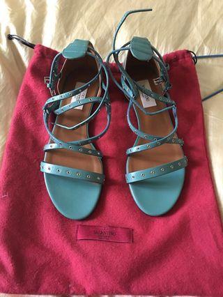 Valentino garavani authentic love latch sandals tosca
