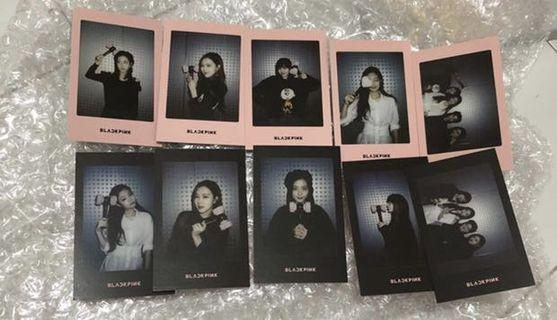 Po blackpink lightstick pc Polaroid photocard