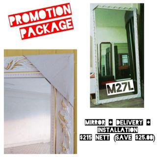 Promotion Package!! Exclusive Mirror!!