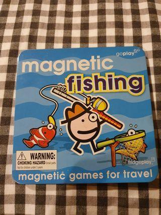 Magnetic Fishing Travel Game