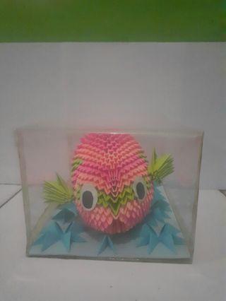 Origami 3 Dimensi Ikan