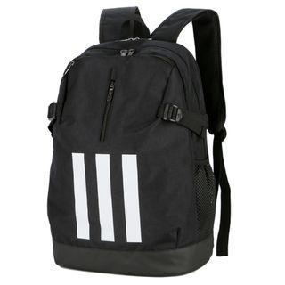 Adidas backpack double shoulder bag - Black (April Sales) 5226137