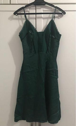 Satin Dress (Premium Quality)