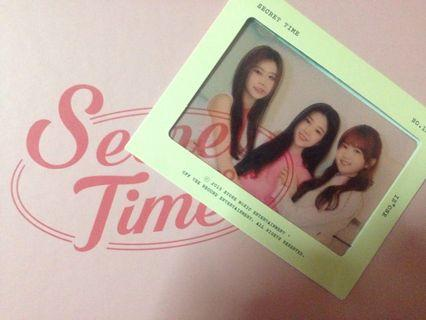 WTS / WTT IZ*ONE SECRET TIME (film photocard)