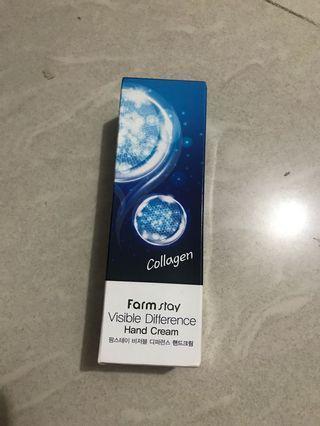 韓國 Farm stay Collagen hand cream