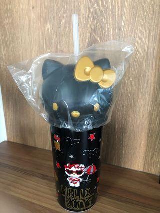 Hello Kitty Water (Black) Tumbler