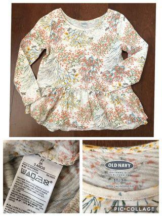 Take all baju anak perempuan authentic old navy benetton next sz 2-4y