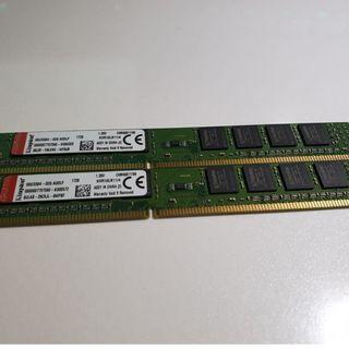 DDR3 1600 Kingston RAM 2x 4GB