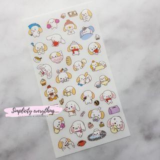 [INSTOCKS] Cute Bunny BUJO Stickers #5