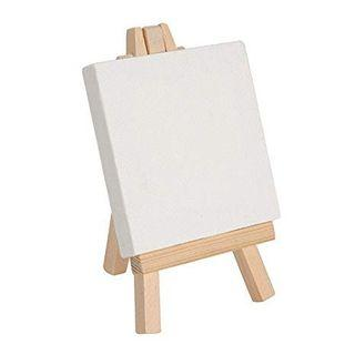 Mini Canvas Board with Easel Stand