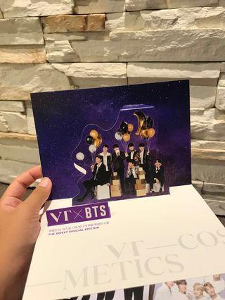 VT X BTS standee Clearance