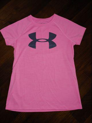 BN Authentic Under Armour Pink T-shirt